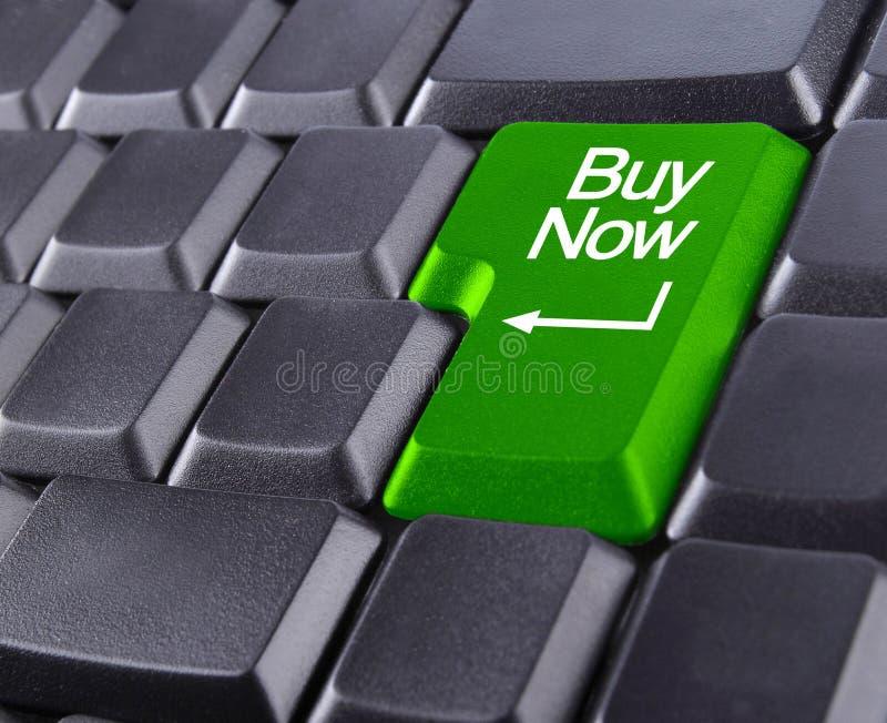 Keyboard buy now royalty free stock photos