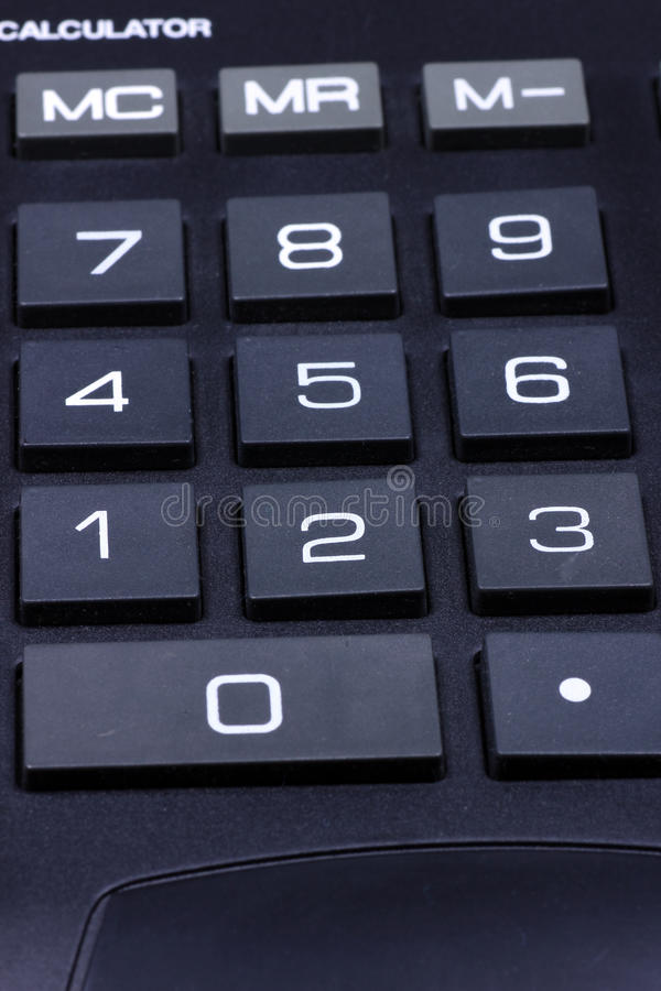 Download Keyboard of a calculator stock photo. Image of calculation - 17272360