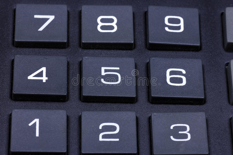 Download Keyboard of a calculator stock photo. Image of number - 17272408