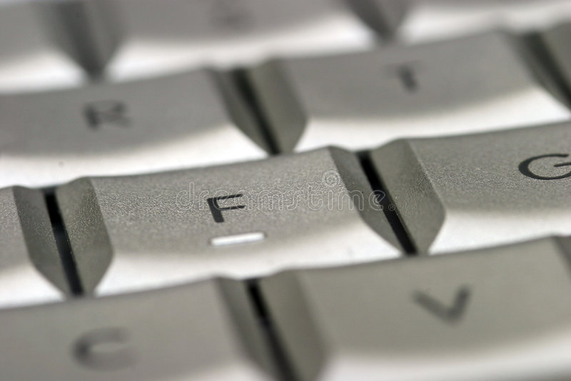 Keyboard Close Up royalty free stock image