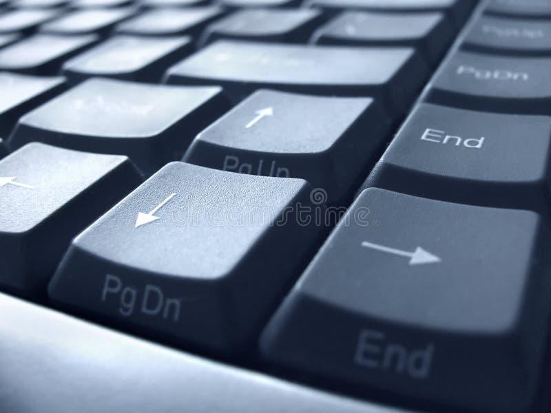 Keyboard closeup. PC keyboard closeup view royalty free stock images