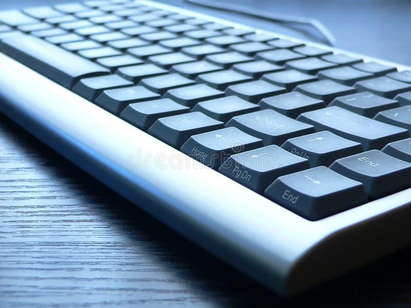 Keyboard closeup. PC keyboard closeup view stock images