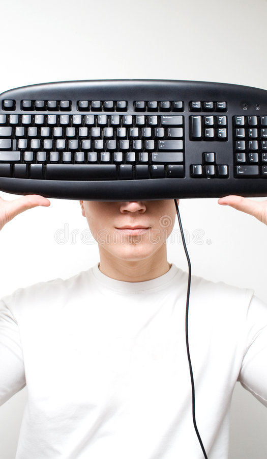 Keyboard Concept2 stock photo