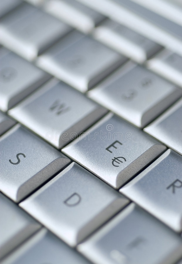 Free Keyboard Euro Royalty Free Stock Photos - 3748938