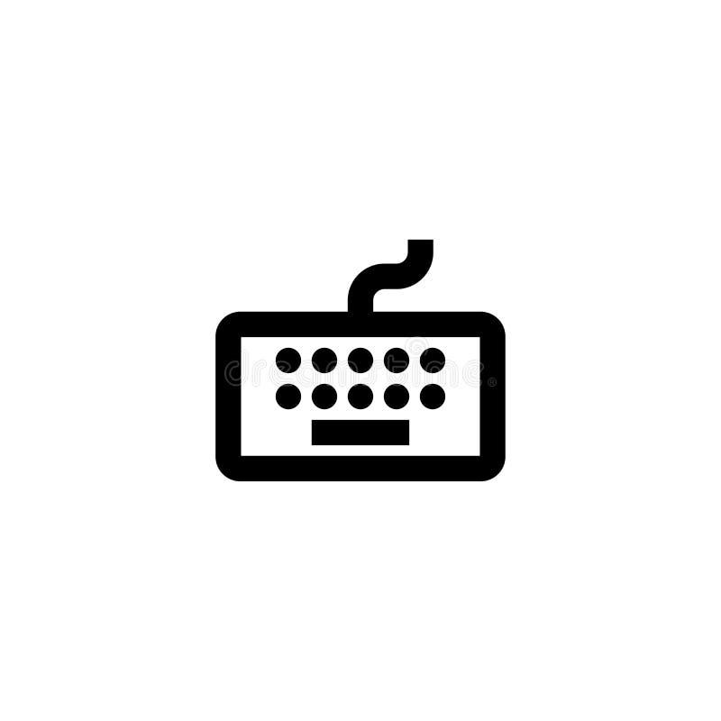 Keyboard icon. Computer controller sign. Wasd symbol royalty free illustration