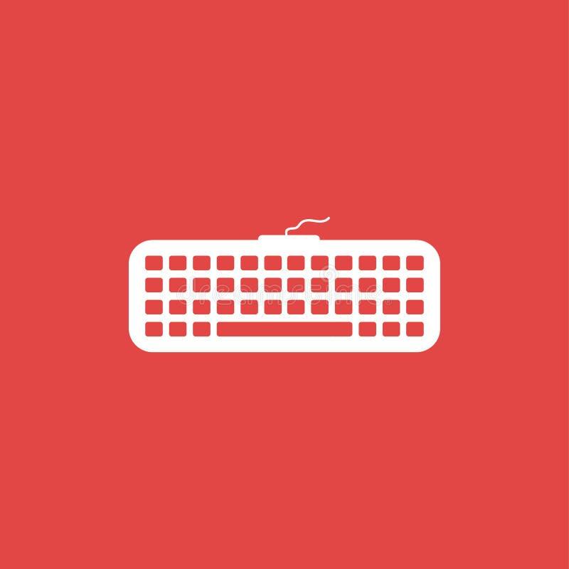 Keyboard icon illustration isolated vector . stock illustration