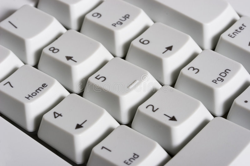 Download Keyboard - numeric pad stock photo. Image of computer - 2155202
