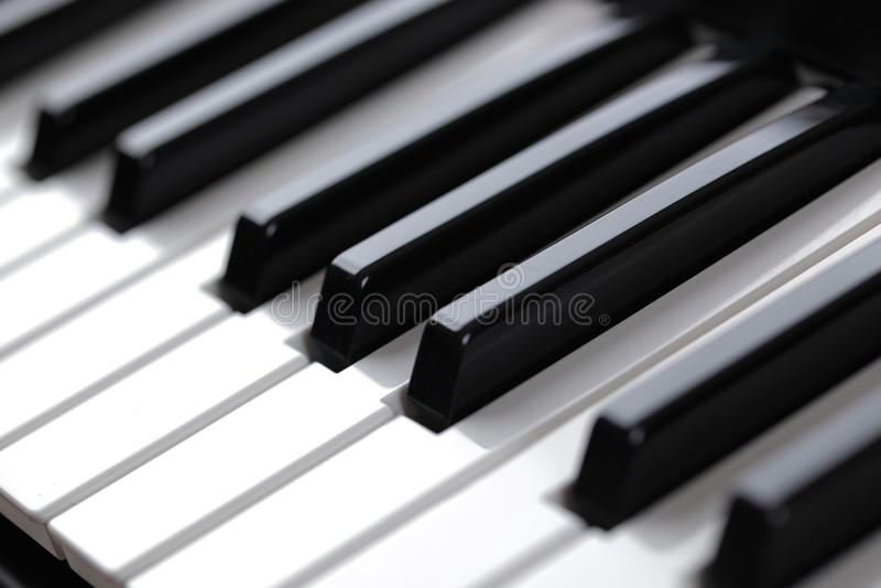 Keyboard Piano Royalty Free Stock Image