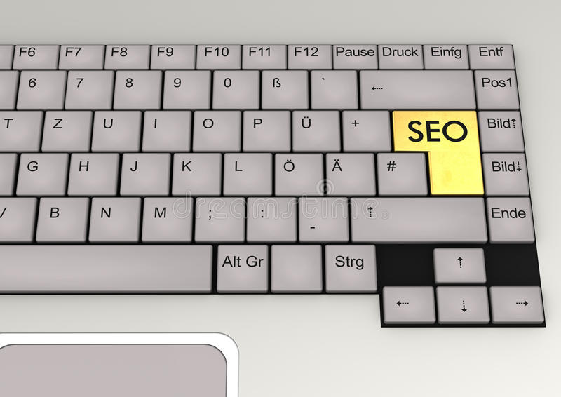 Download Keyboard SEO stock illustration. Image of internet, report - 28971598