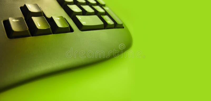 Keyboard technology stock image