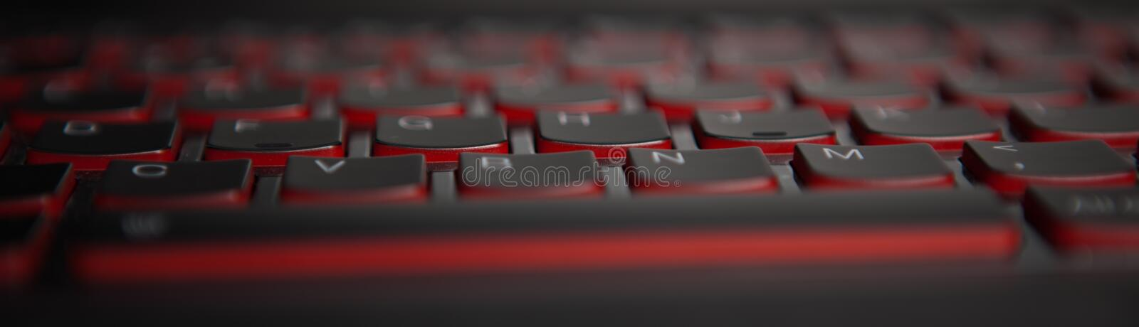 Keyboard texture. Macro keyboard texture dark royalty free stock photos
