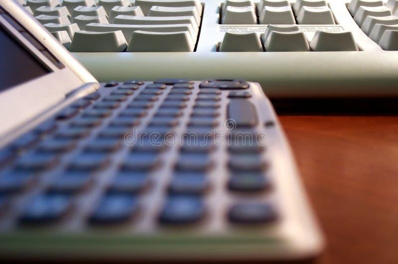 Keyboards stock image