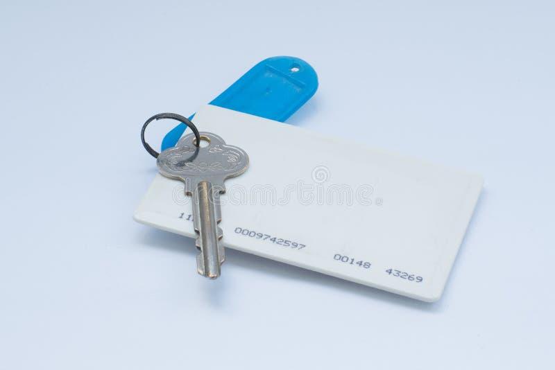 Keycard fotografie stock
