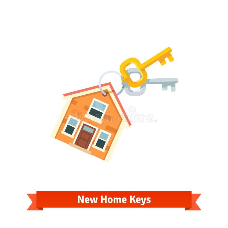 Keychain de chambre symbolisant l 39 achat d 39 une nouvelle for Achat d une maison