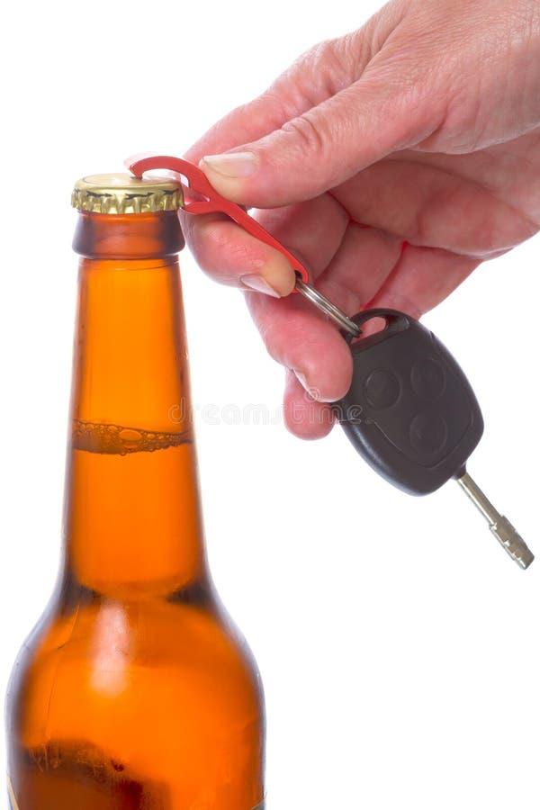 Keychain dla kluczy - otwieracz zdjęcia royalty free