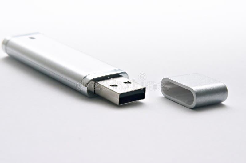Keychain do USB imagens de stock