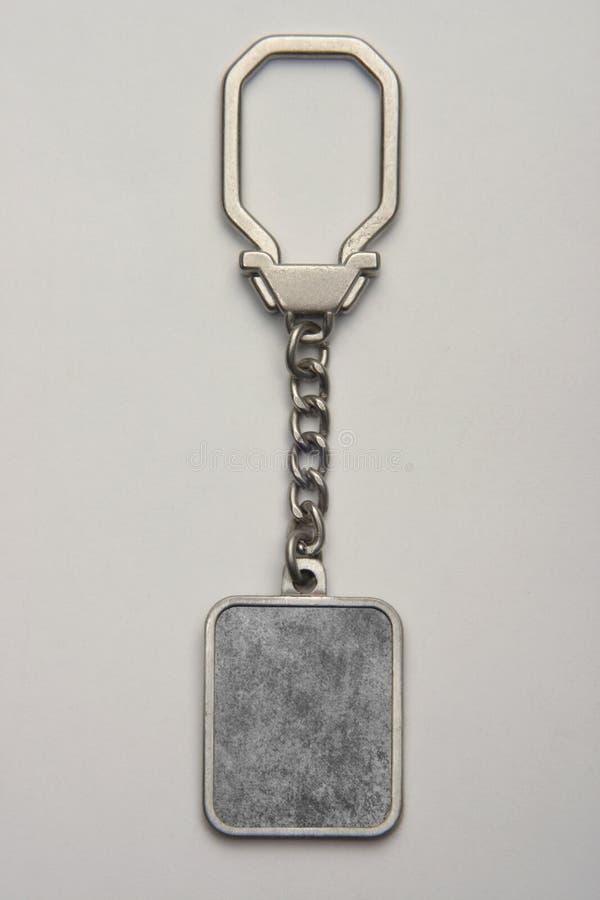 Keychain machte von den Metallen kann für Förderung eingeschrieben werden und versinnbildlicht werden stockfoto