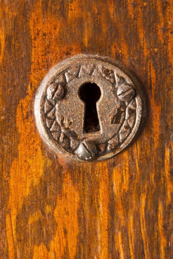 keyhole богато украшенный стоковая фотография