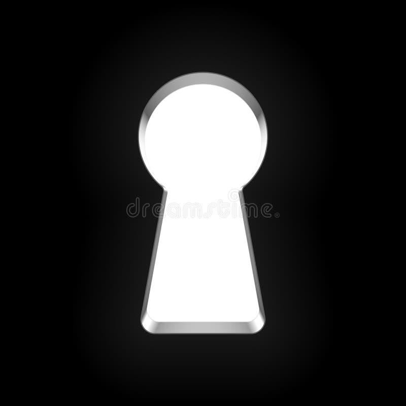 keyhole vektor illustrationer