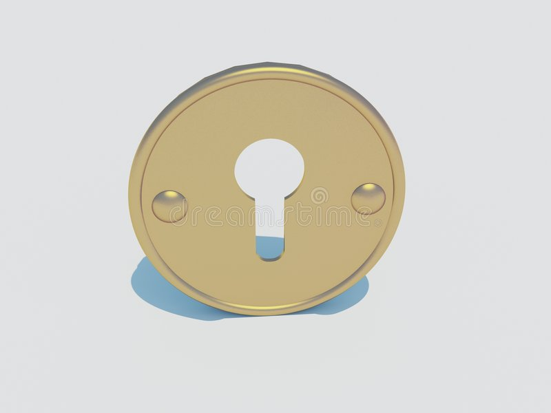 Download Keyhole Royalty Free Stock Photo - Image: 4966765