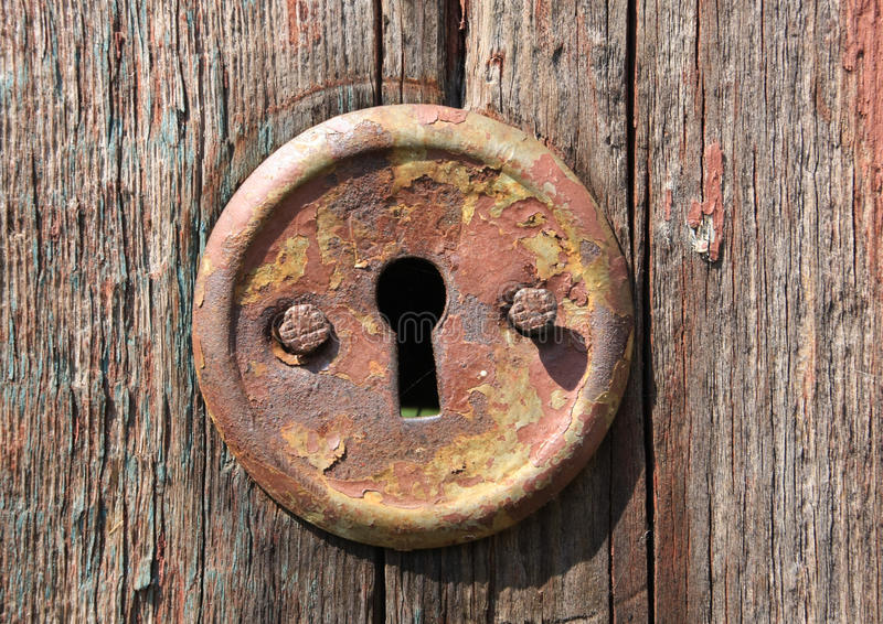 Download Keyhole of old door stock image. Image of paint house - 10424733 & Keyhole of old door stock image. Image of paint house - 10424733 pezcame.com