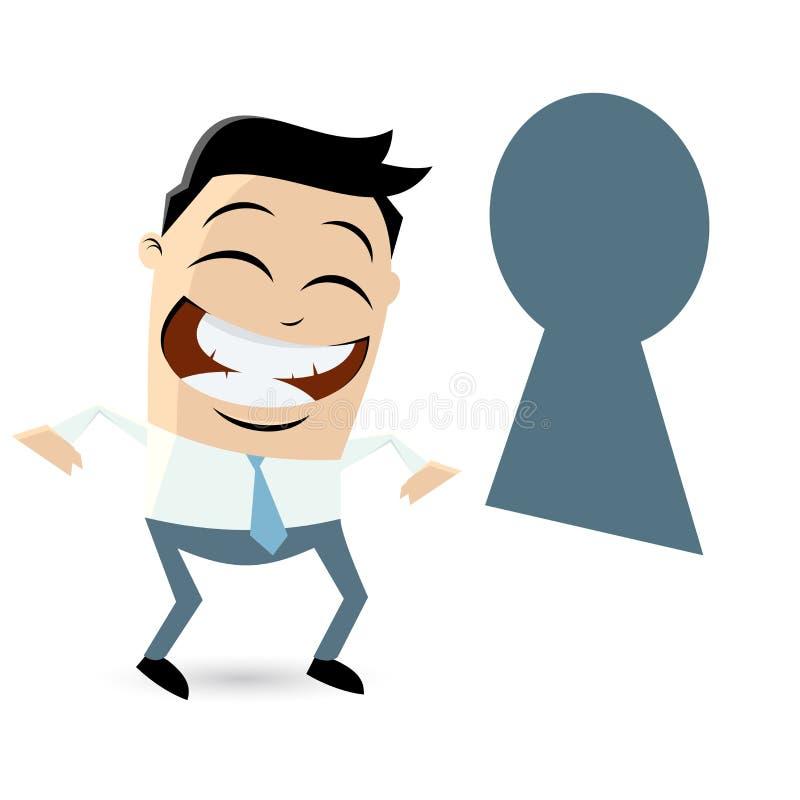 keyhole target1558_0_ ilustracji