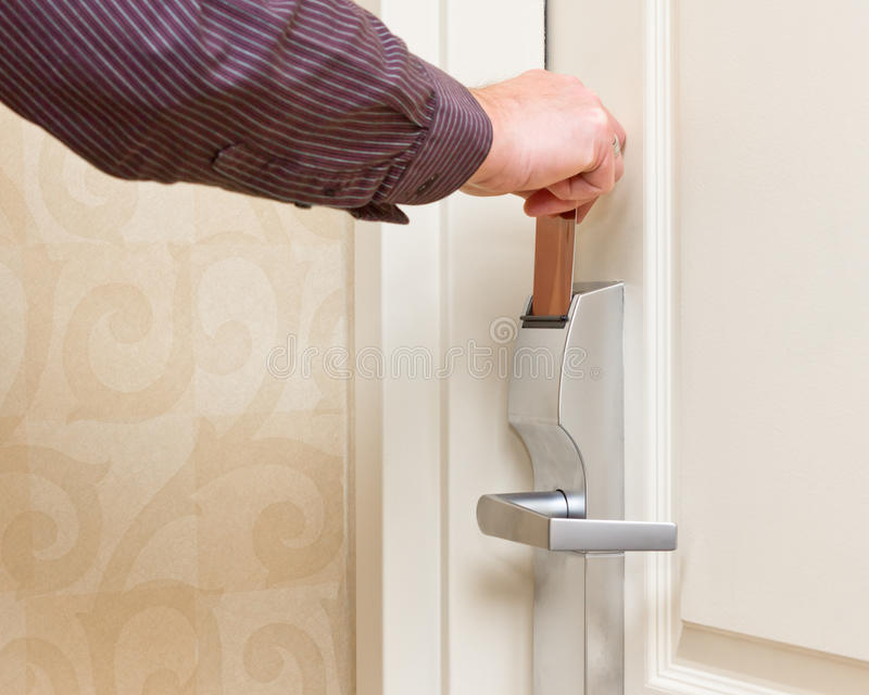 Download Keyless Door Entry stock photo. Image of business, inserting - 27366048