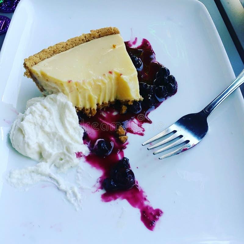 Keylime Torte stockfoto