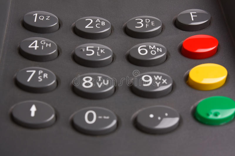 Download Keypad with buttons stock photo. Image of business, keyboard - 13272116