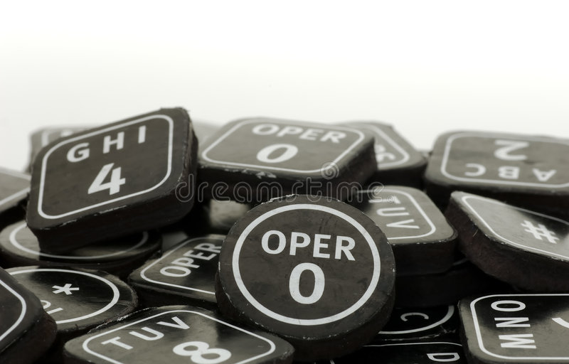 Keypad Buttons stock images