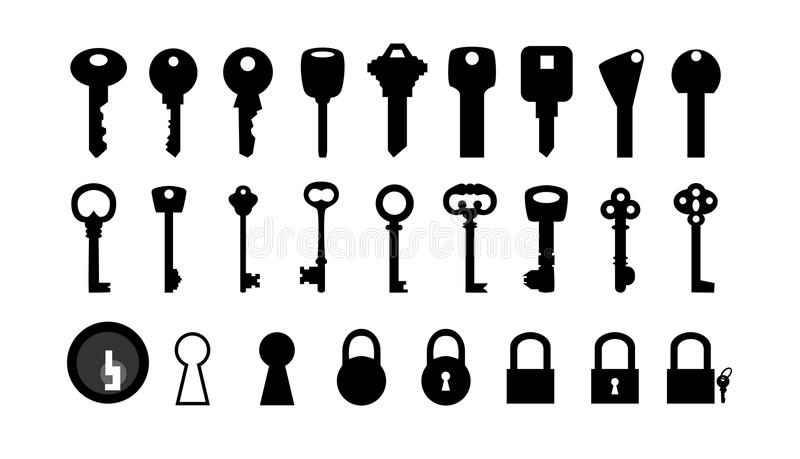 Keys vector illustration