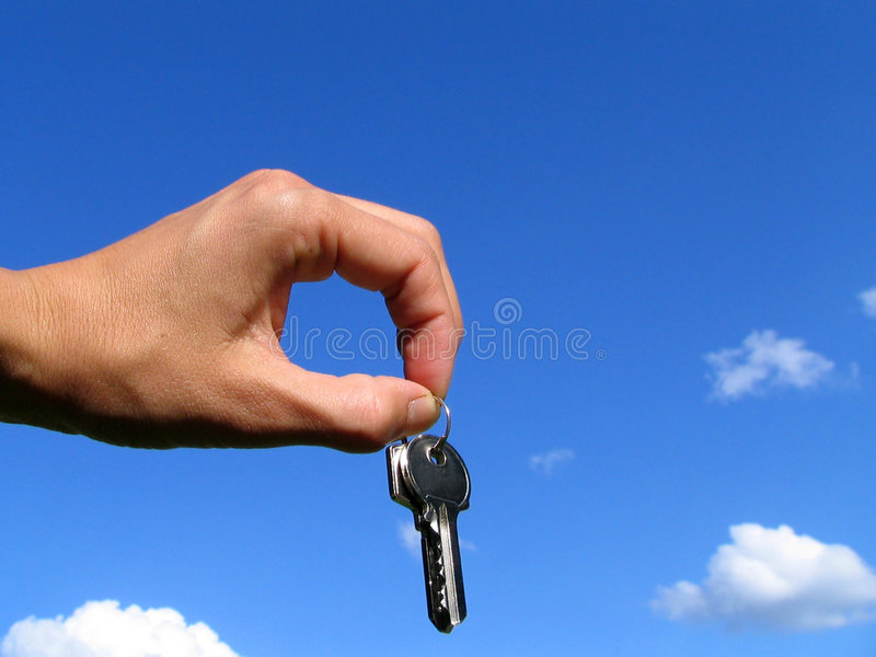 Download Keys stock photo. Image of estate, hand, sell, relocate - 158094