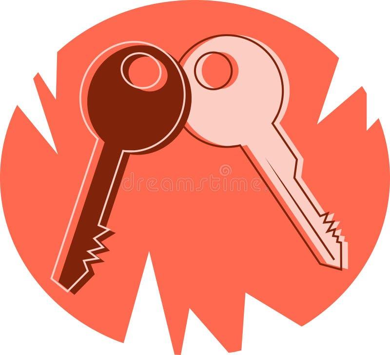 Keys stock illustration