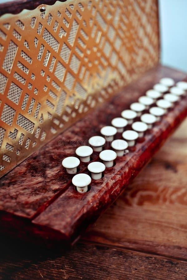 Keys accordion royalty free stock photography