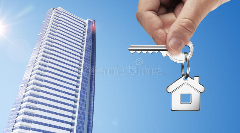 Keys of apartment royalty free stock photography