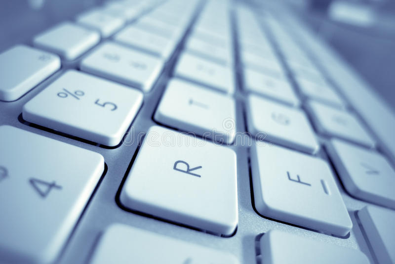 Download Keys of a computer stock photo. Image of input, computer - 29386332