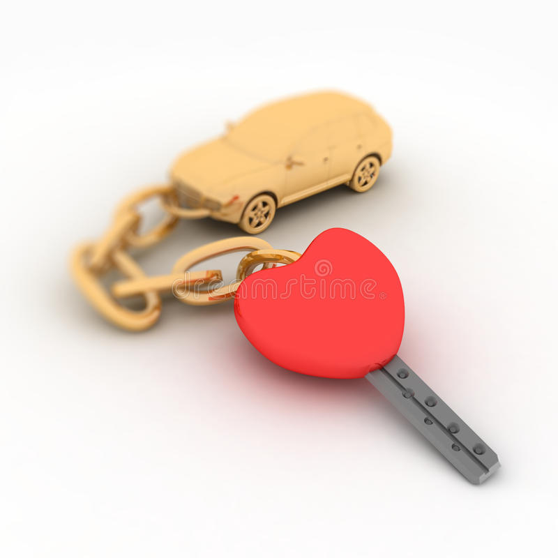 Download Keys From Heart Stock Image - Image: 22758201