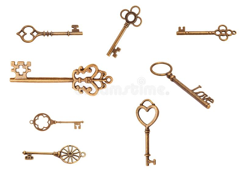 keys manusckript στοκ εικόνα με δικαίωμα ελεύθερης χρήσης