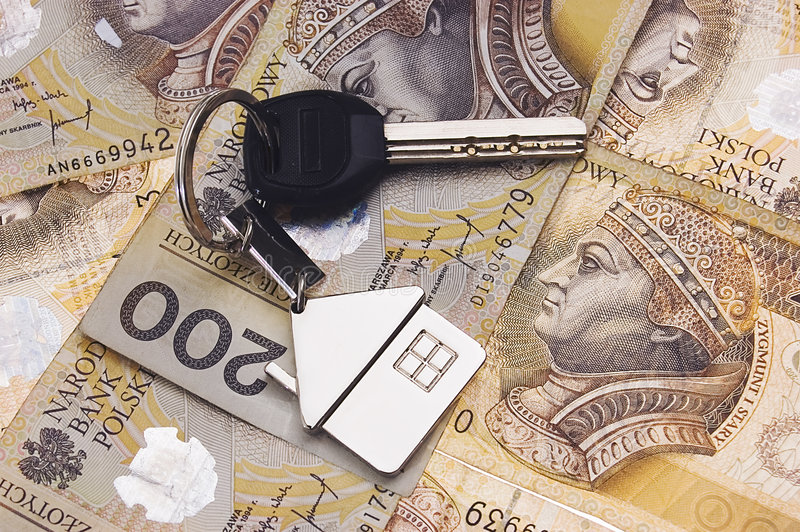Download Keys on money stock image. Image of investing, cash, investment - 7646309