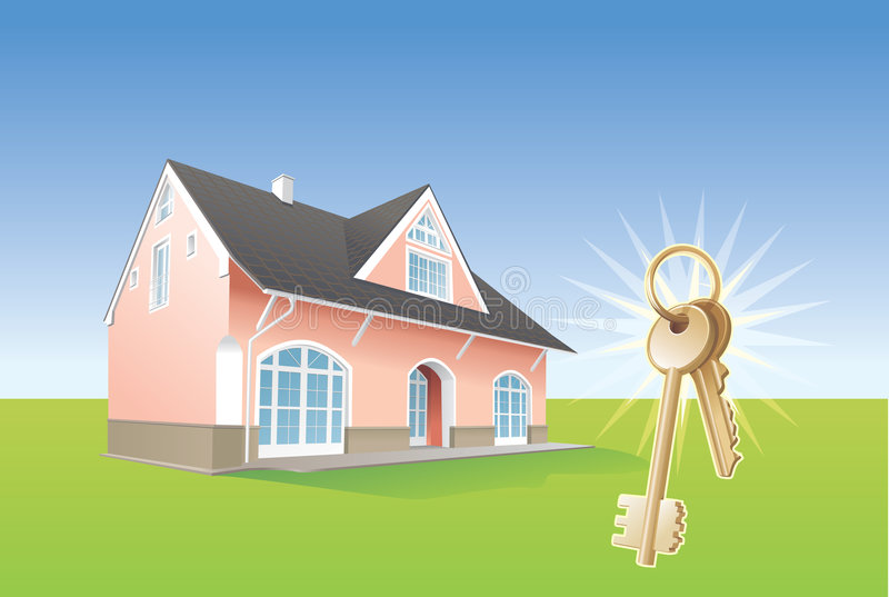 Download Keys, New Home, Realty. Vector Stock Vector - Image: 2454774