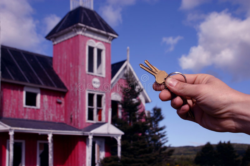 Keys with old house stock image image of house mortgage for Classic house keys samplephonics