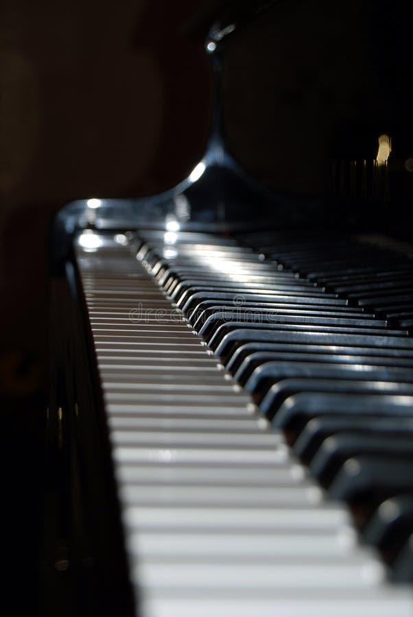 keys pianot arkivbild
