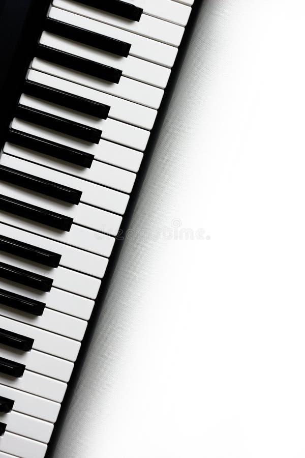 keys pianot royaltyfria foton