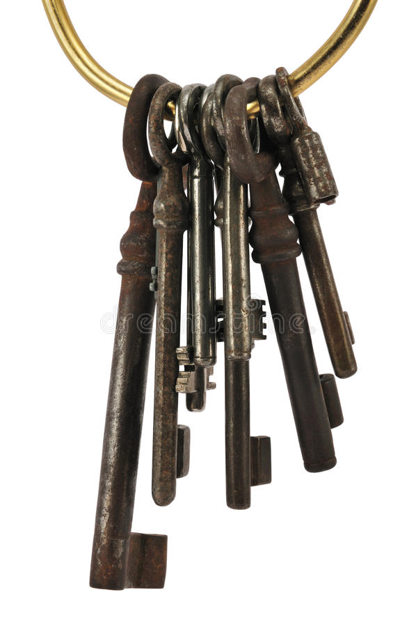 Download Keys on ring stock photo. Image of security, different - 13675504