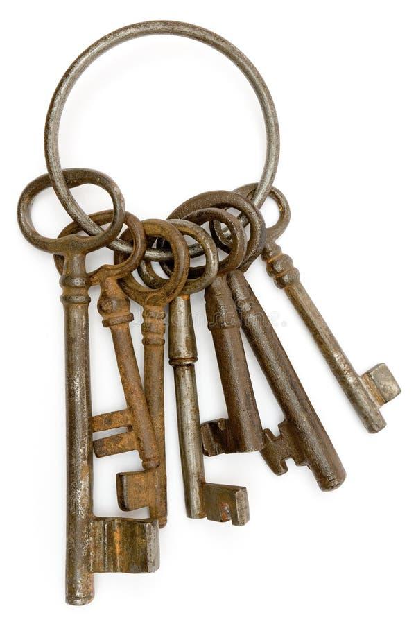 keys rostigt royaltyfria foton