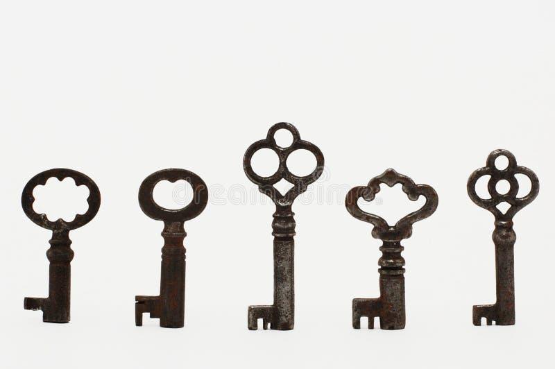 keys tappning royaltyfri foto