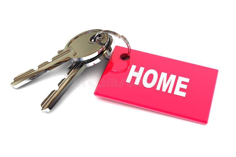 Download Keys to Home stock illustration. Image of career, word - 31669864
