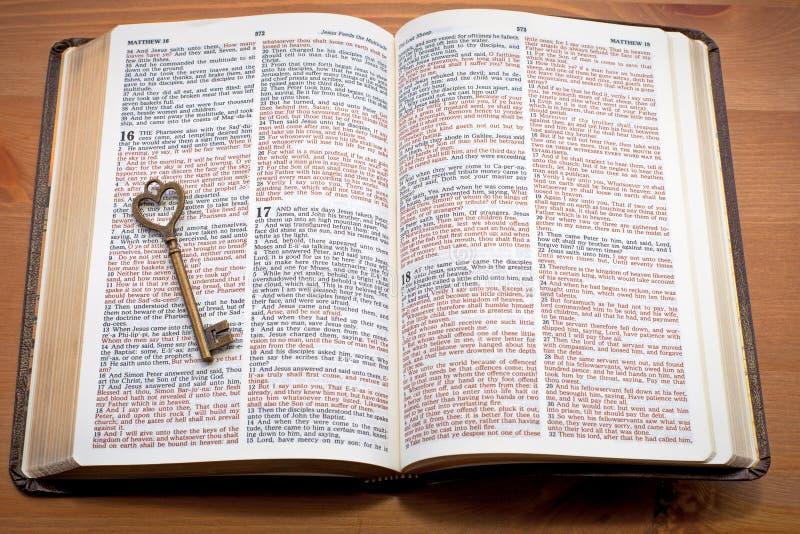 Keys to the Kingdom royalty free stock photography