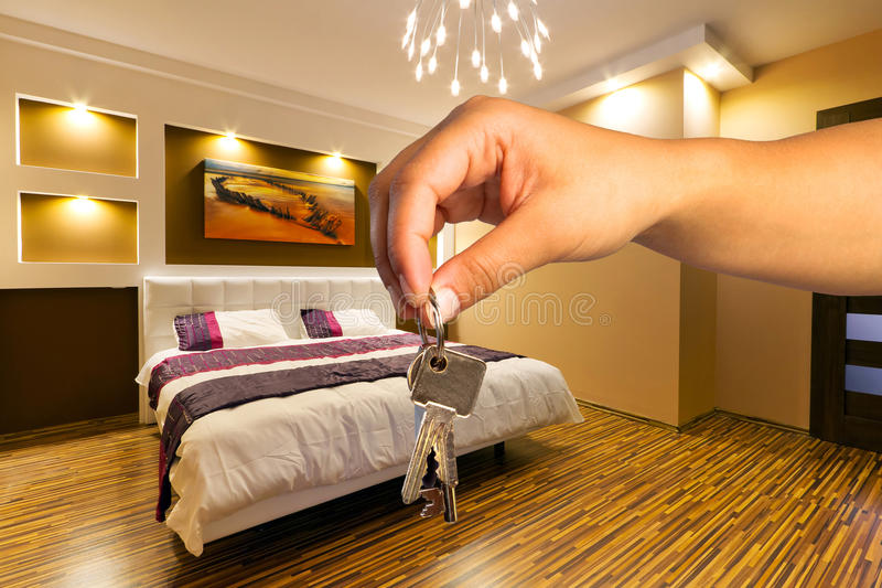 Download Keys to modern apartment stock image. Image of buyer - 31405629