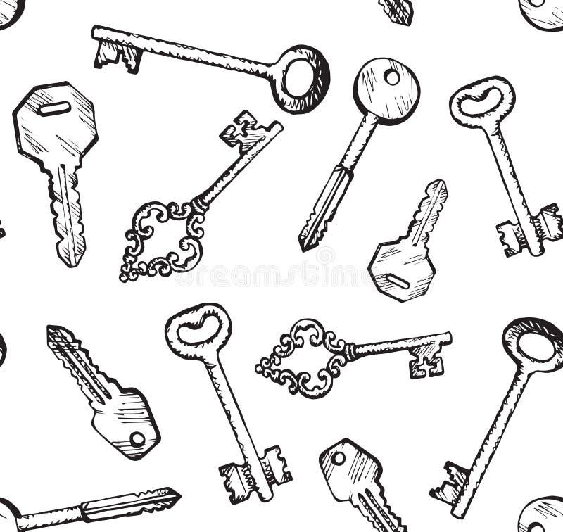 Free Keys. Vector Drawing Stock Photo - 151893090